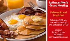 Lutheran Men's Breakfast