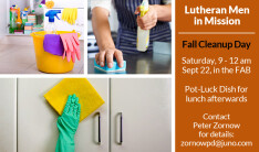 Lutheran Men Fall Cleanup Day